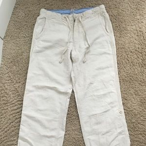 Gap linen Canvas pants size M